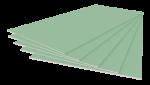 Гипсокартон Магма Влагостойкий 2500х1200х9,5 мм