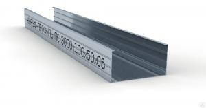 Профиль стоечный (100x50х0.6 мм/ 3 м) КНАУФ