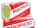 Базальтовая вата Isoroc Изолайт П-50 1000х500х100мм (2,4 м2) 50 кг/м3