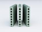 Пазогребневая плита Влагостойкая (ПГП) Пустотелая ВОЛМА (667х500х80 мм)